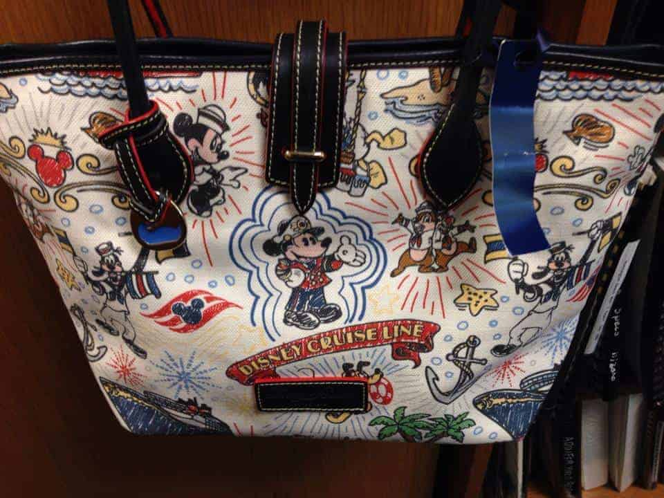 Disney Cruise Line Sketch Canvas Tote