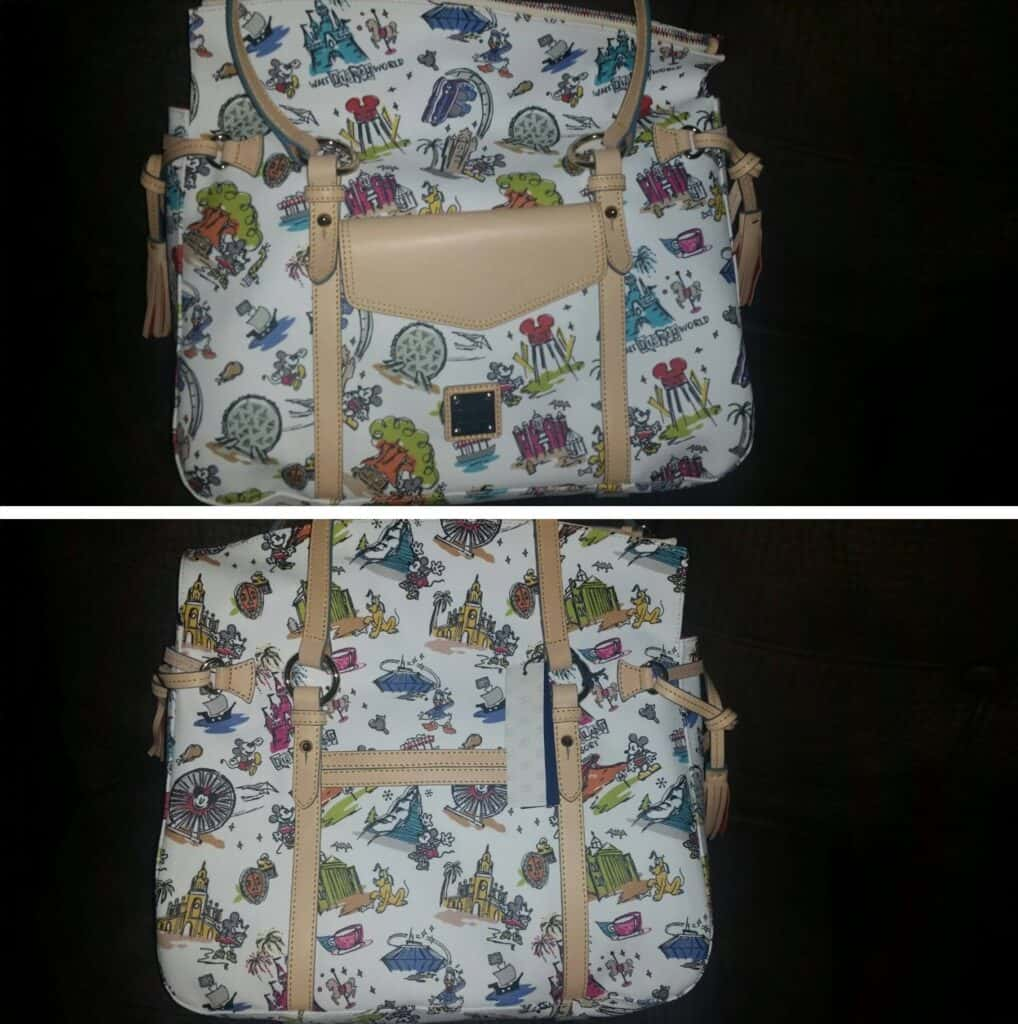 Disneyana Smith Bag Misprint OOAK