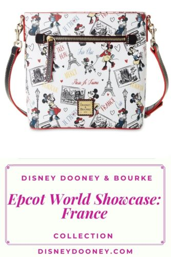 Pin me - Disney Dooney and Bourke Epcot World Showcase: France Collection