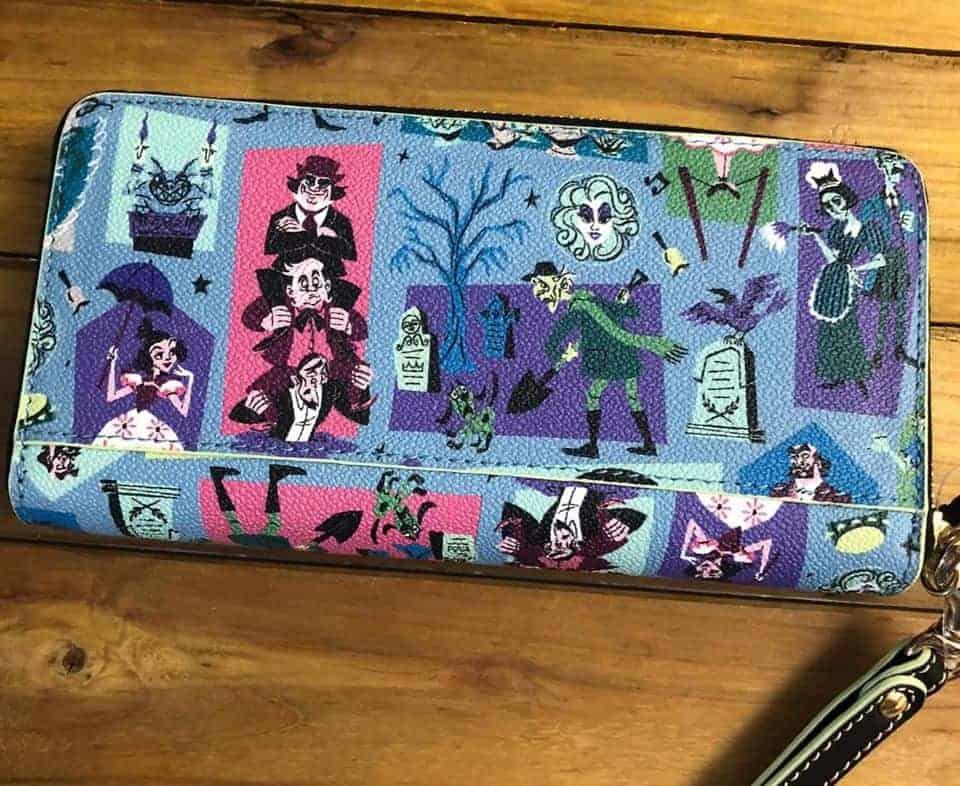 Haunted Mansion 2020 Wallet (back) by Dooney & Bourke
