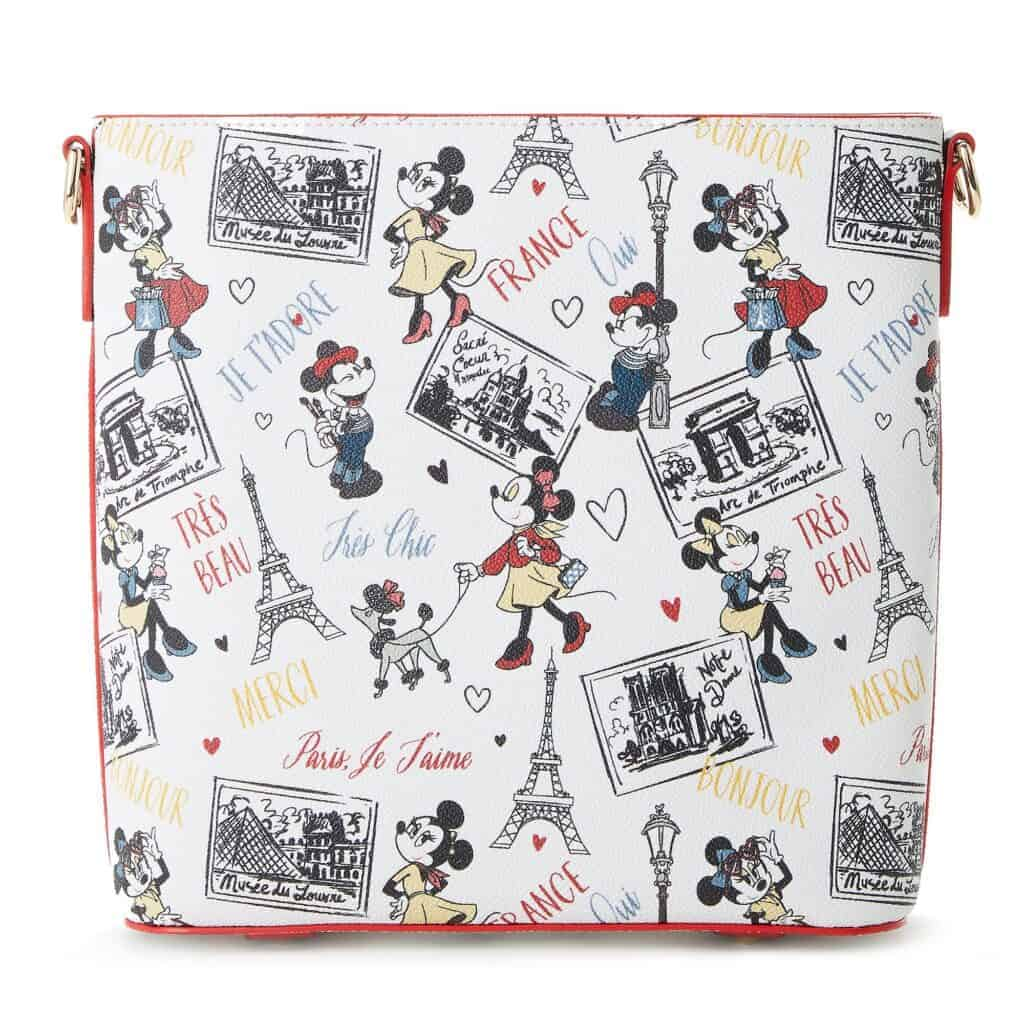Minnie Mouse Très Chic Crossbody Bag (back) by Dooney & Bourke