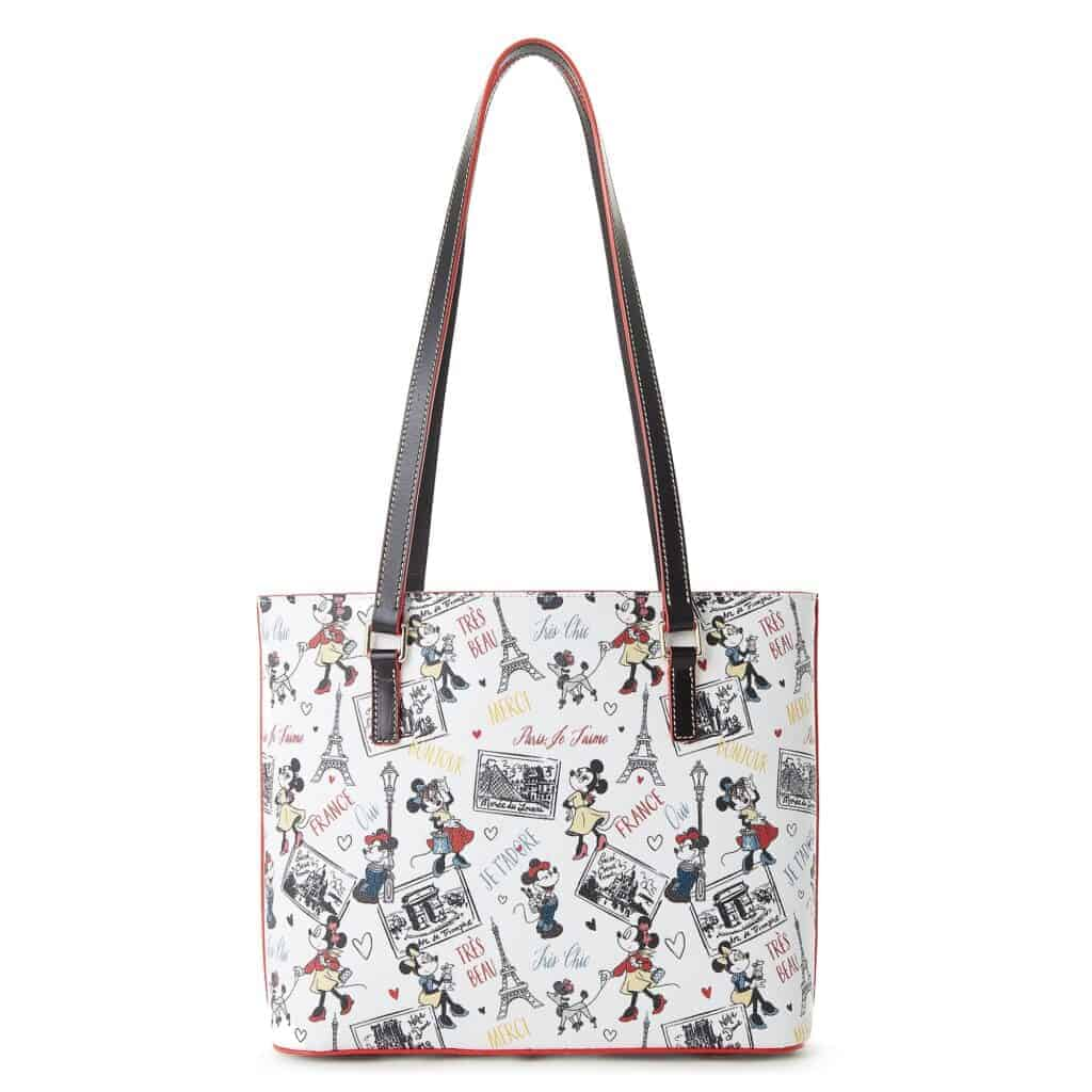 Minnie Mouse Très Chic Shopper Tote (back) by Dooney & Bourke