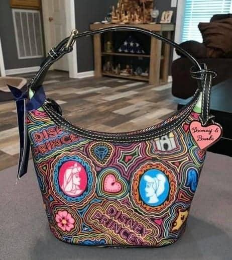 Pop Princess Black Bucket Bag OOAK
