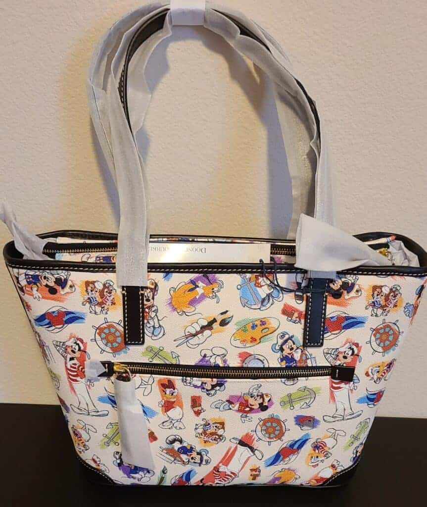 Disney Cruise Line Ink & Paint Tote back