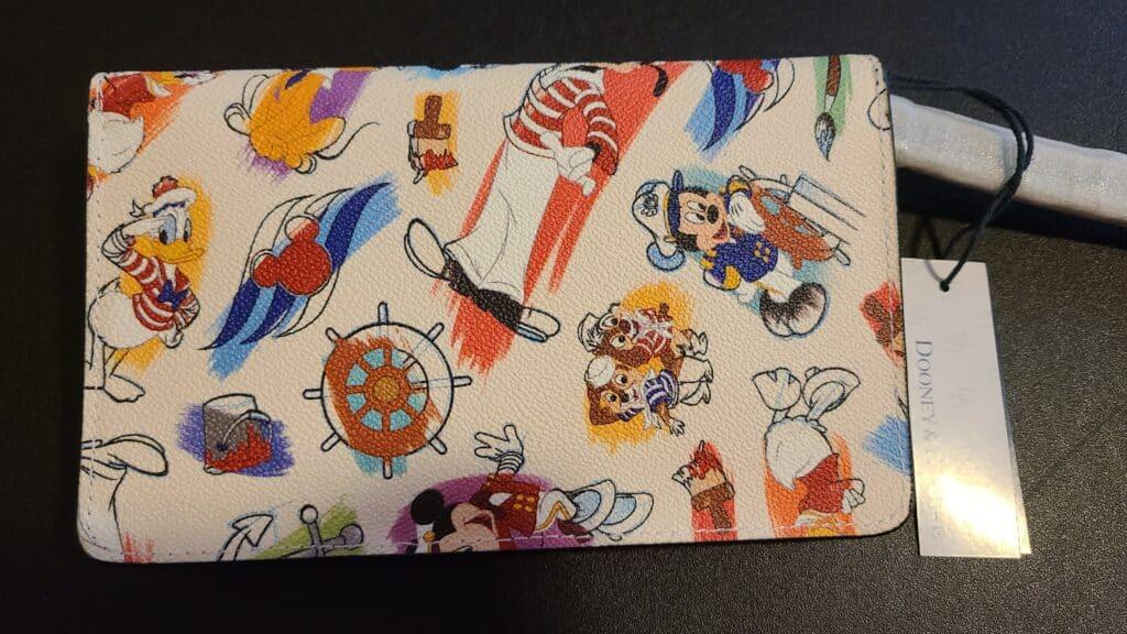 Disney Cruise Line Ink & Paint Wristlet (back)