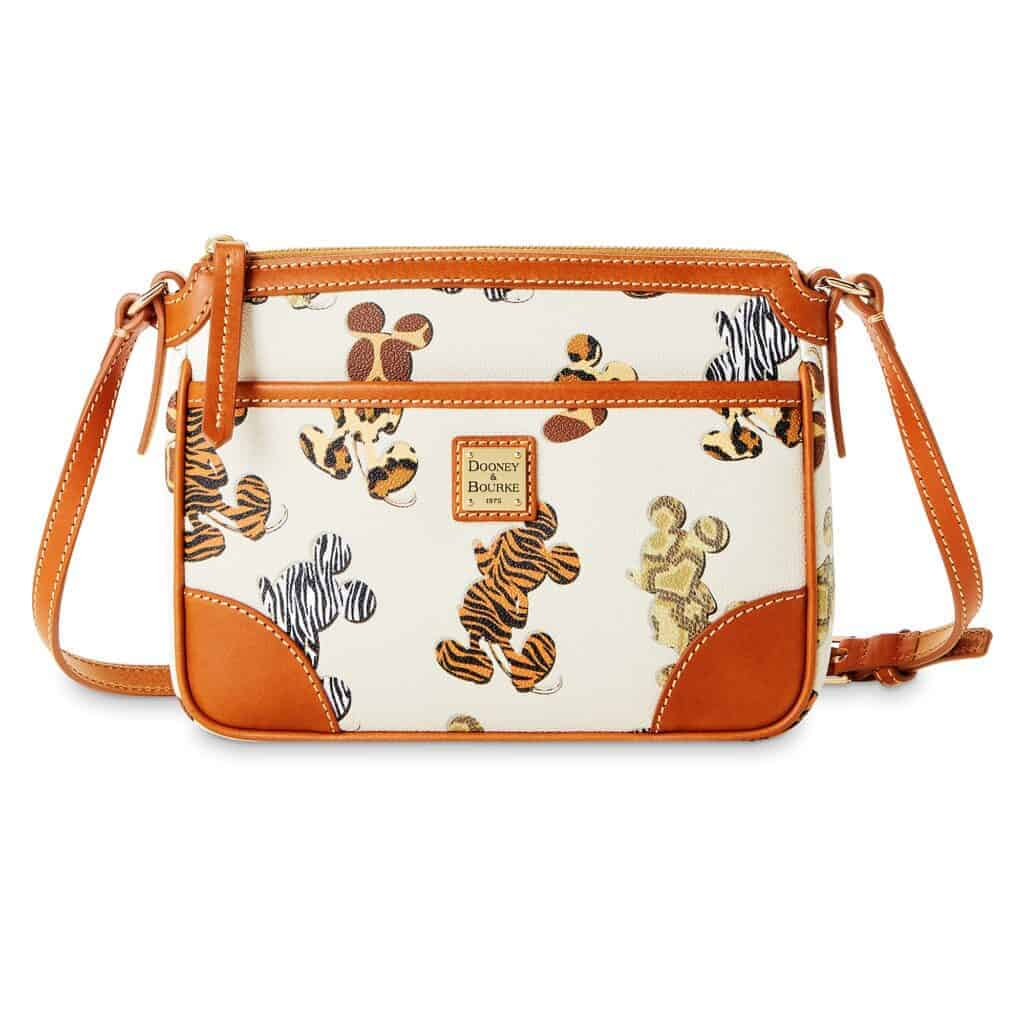 Mickey Mouse Animal Print Crossbody Bag by Dooney & Bourke