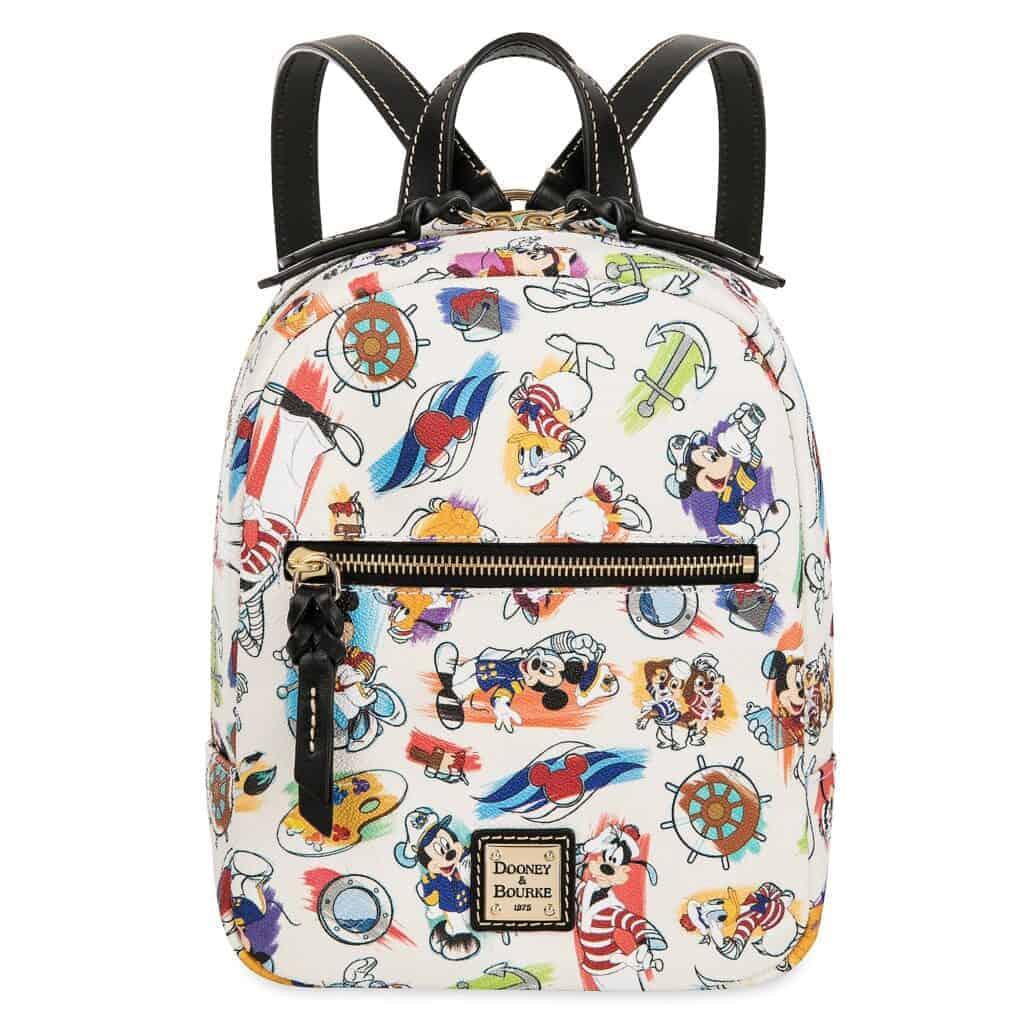 Disney Cruise Line Ink & Paint Mini Backpack