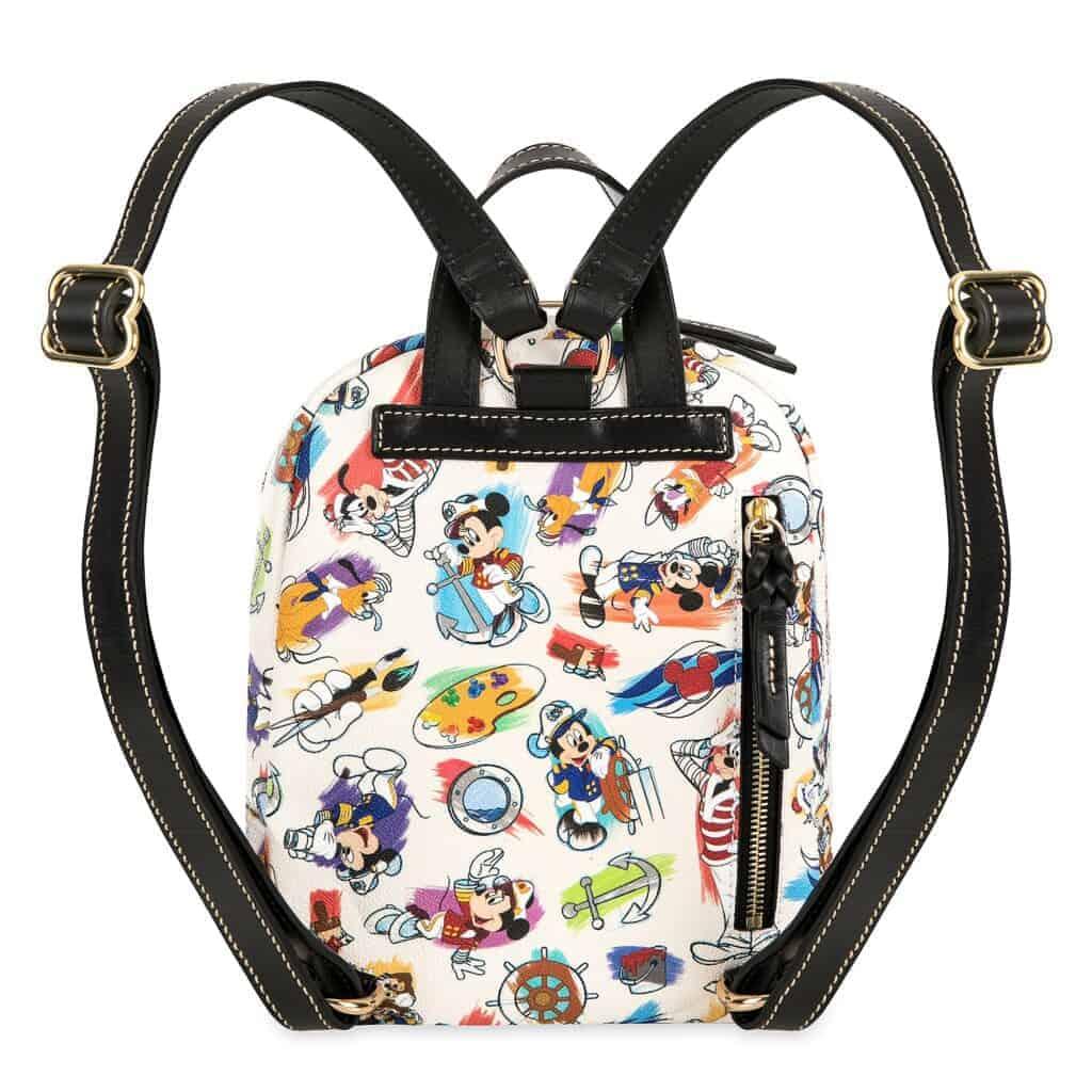 Disney Cruise Line Ink & Paint Mini Backpack (back)ack back