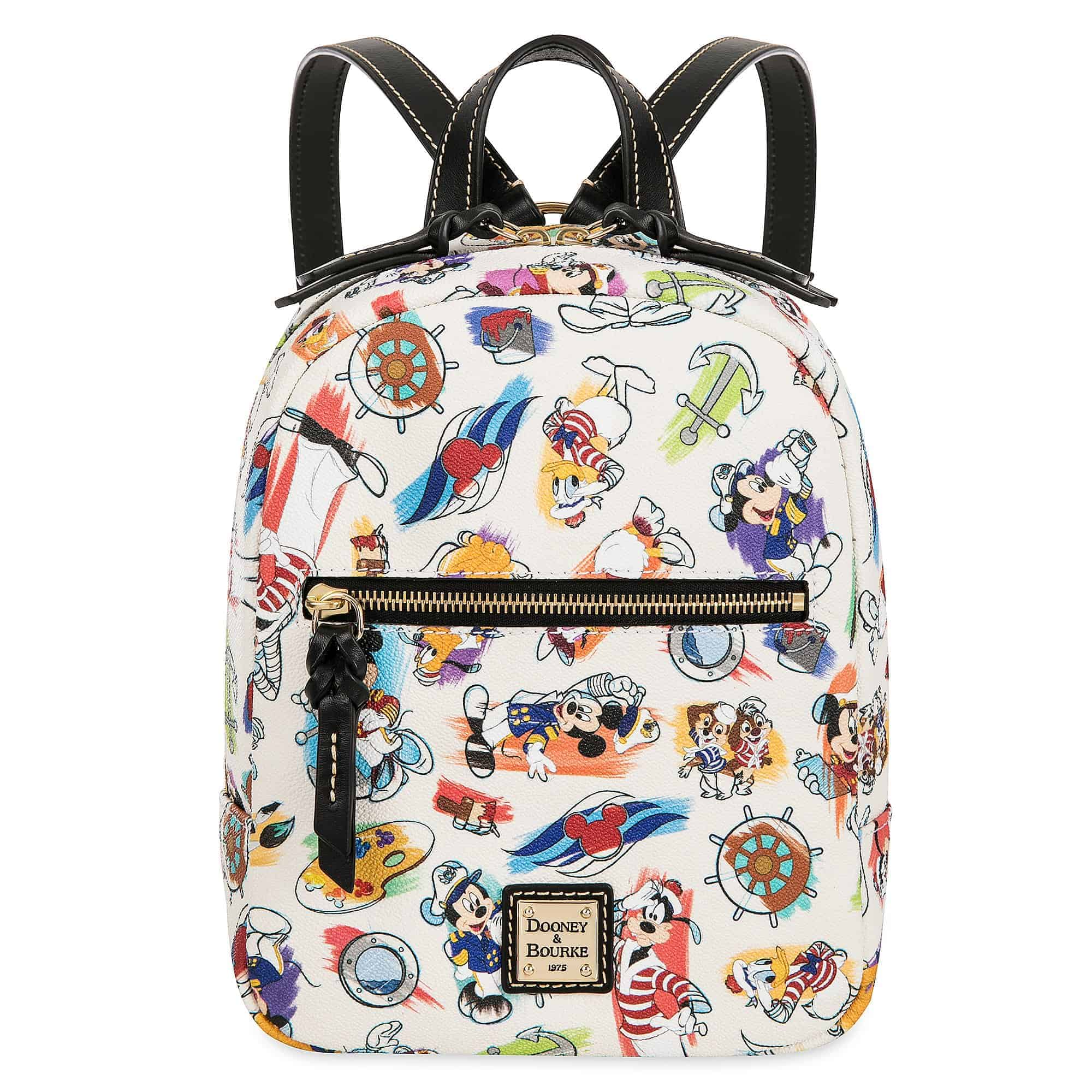 Disney Cruise Line Ink & Paint Mini Backpack