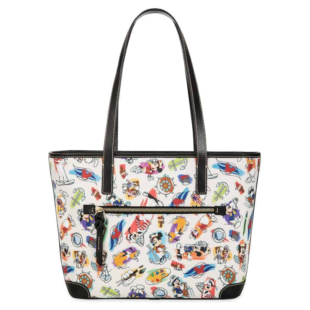 Disney Cruise Line Ink & Paint Tote (back)