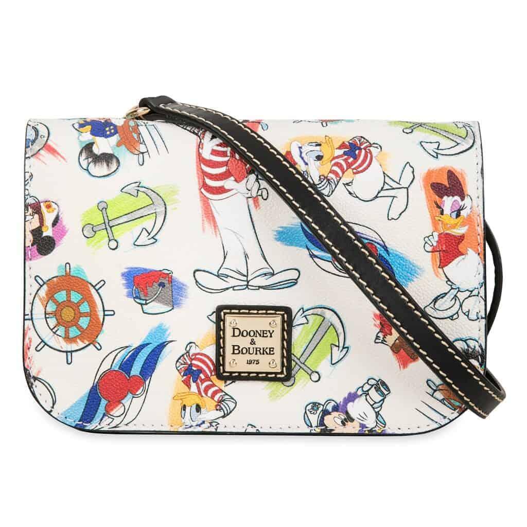 Disney Cruise Line Ink & Paint Crossbody Bag