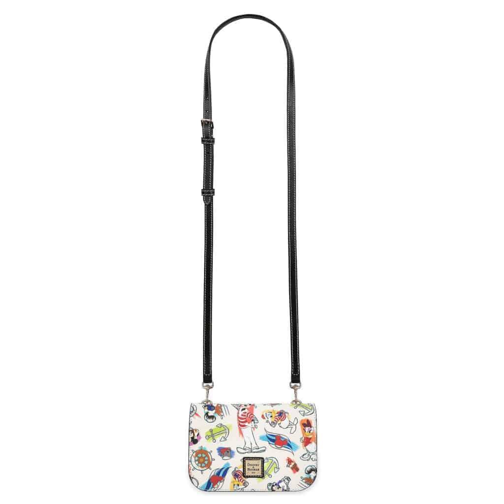 Disney Cruise Line Ink & Paint Crossbody Bag (strap)