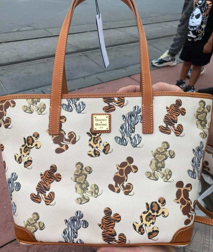 Dooney Bourke Mickey Animal Print Tote