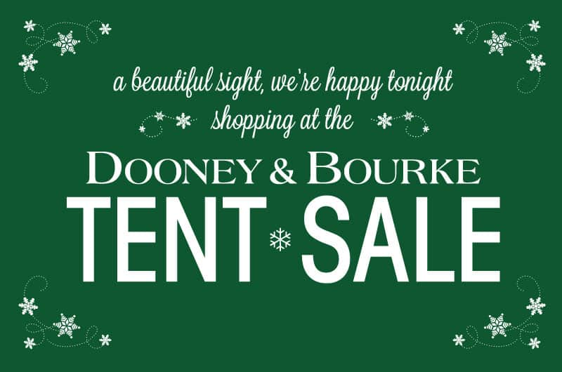 Dooney Tent Sale Featured