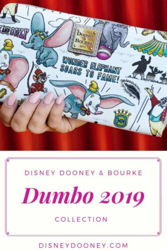 Pin me - Disney Dooney and Bourke Dumbo 2019 Collection