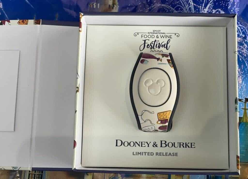 Food Wine Festival 2020 Magic Band by Dooney Bourke in box