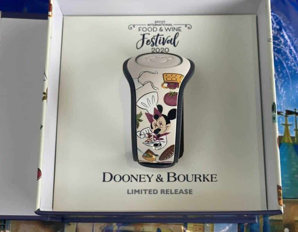 Food Wine Festival 2020 MagicBand by Dooney and Bourke