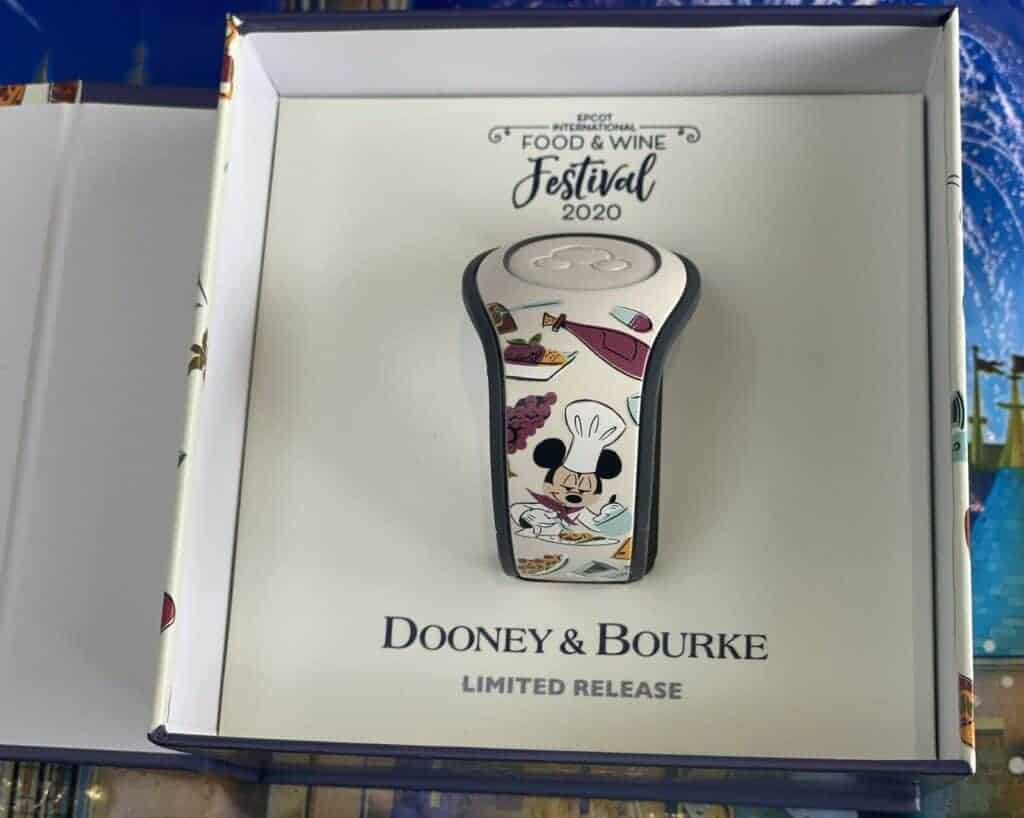 Food Wine Festival 2020 MagicBand by Dooney and Bourke back