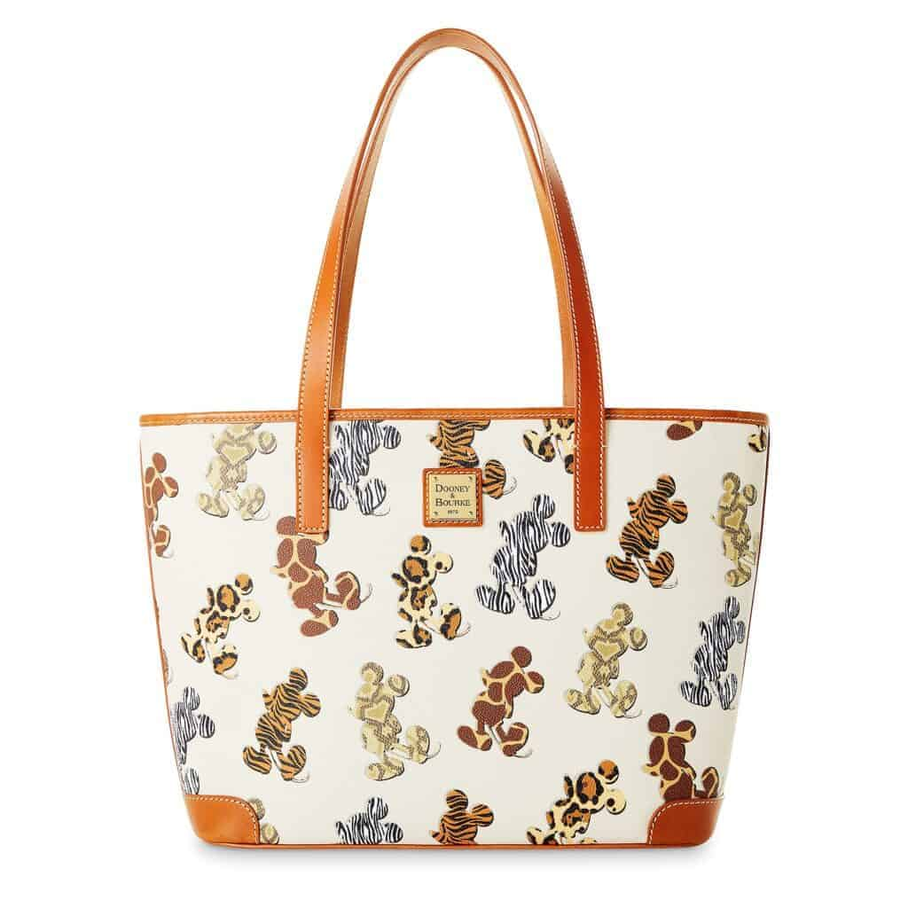 Mickey Mouse Animal Print Tote by Dooney & Bourke
