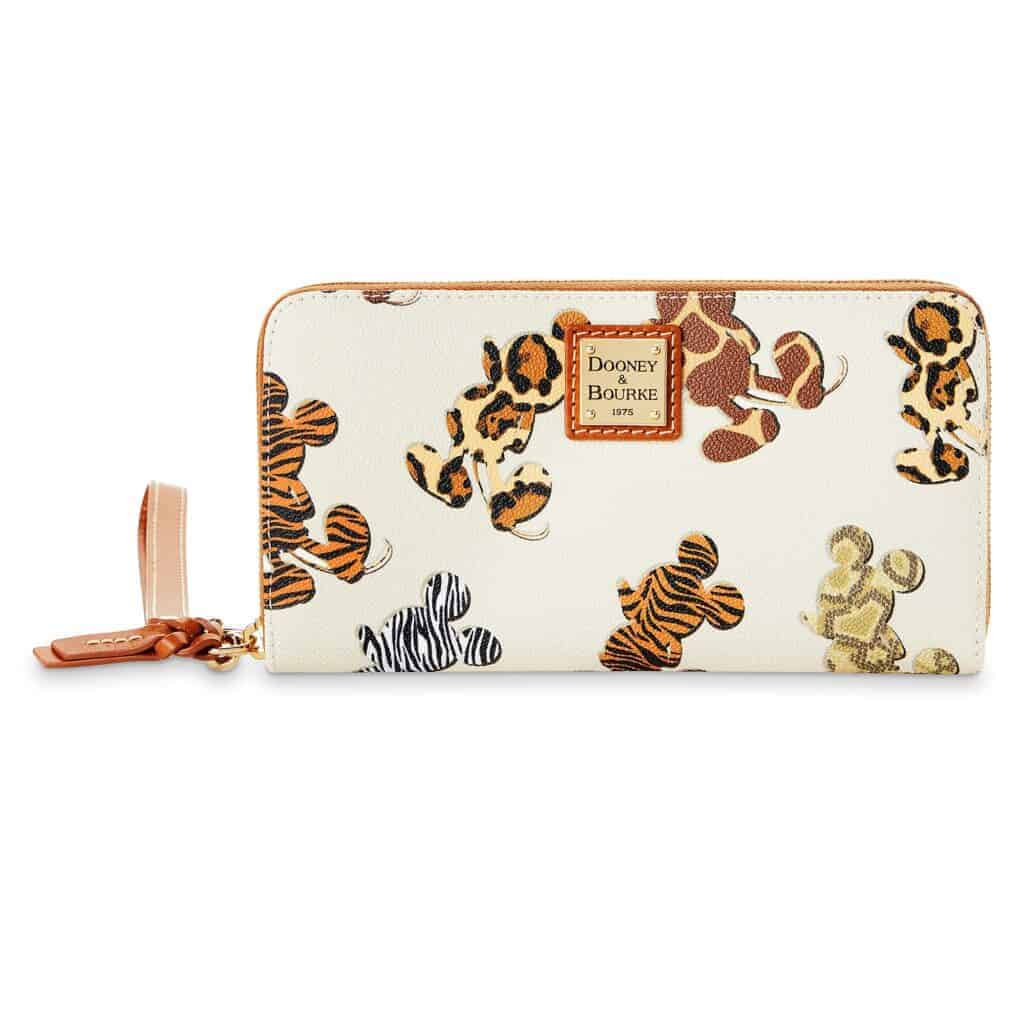 Mickey Mouse Animal Print Wallet by Dooney & Bourke