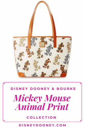 Pin me - Disney Dooney and Bourke Mickey Mouse Animal Print Collection