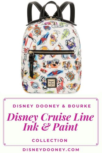 Pin me - Disney Dooney and Bourke Disney Cruise Line Ink & Paint Collection