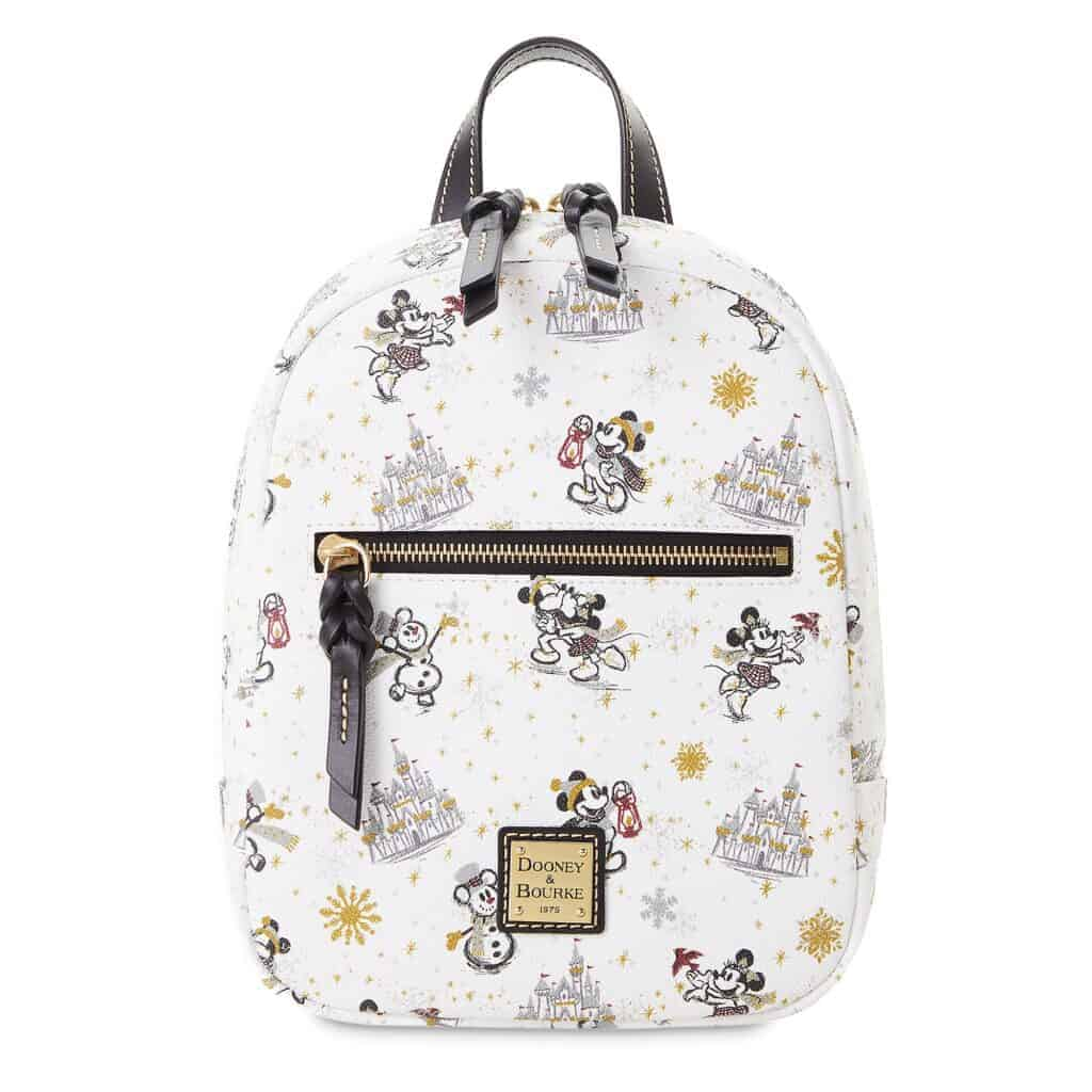 Mickey and Minnie Mouse Holiday 2020 Mini Backpack by Dooney & Bourke
