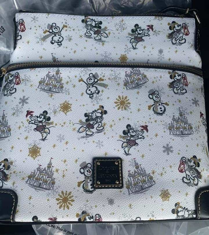 Mickey and Minnie Mouse Holiday 2020 Crossbody Bag