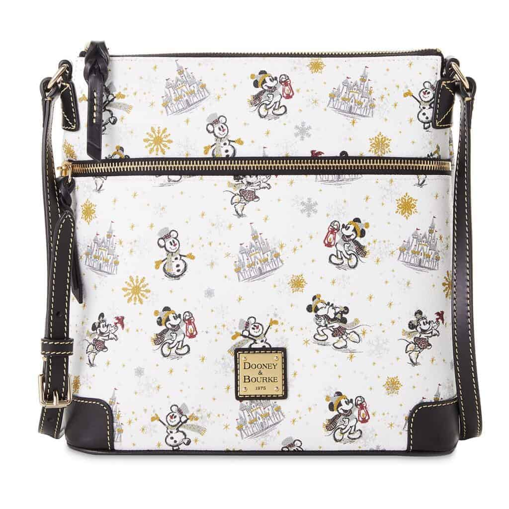 Mickey and Minnie Mouse Holiday 2020 Crossbody Bag by Dooney & Bourke
