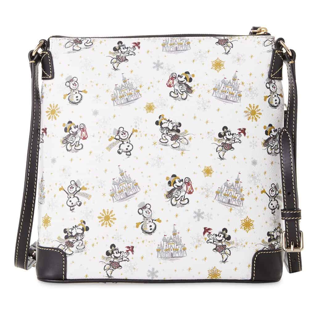 Mickey and Minnie Mouse Holiday 2020 Crossbody Bag (back) by Dooney & Bourke
