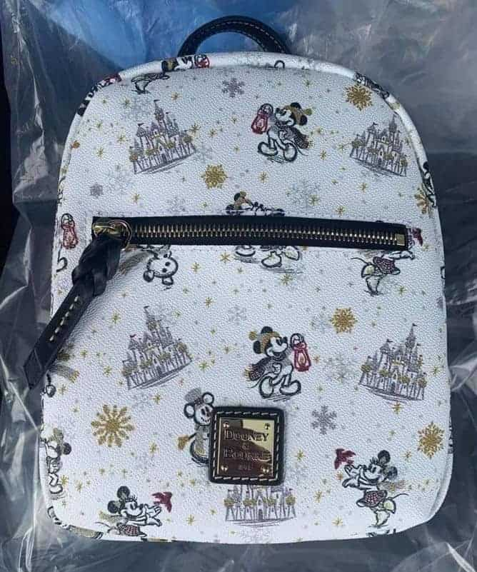 Mickey and Minnie Mouse Holiday 2020 Mini Backpack