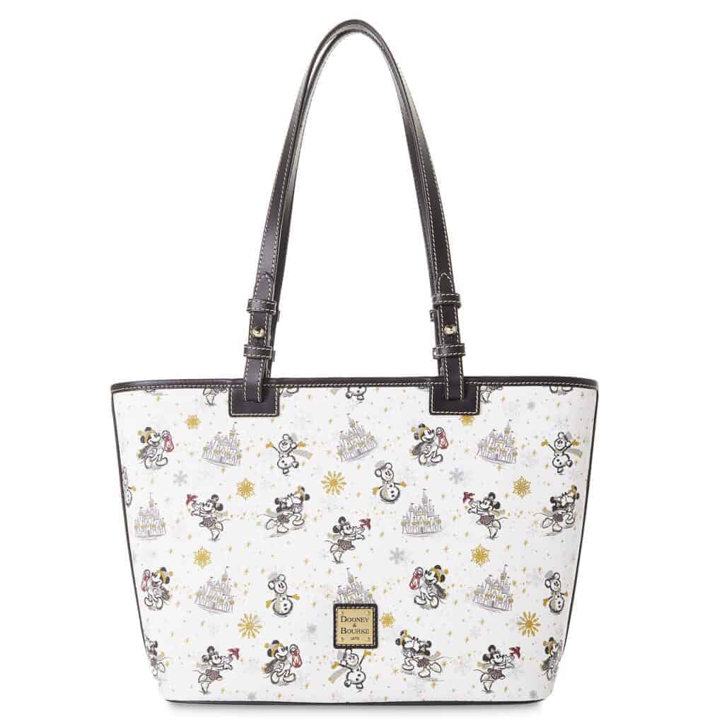Mickey and Minnie Mouse Holiday 2020 Tote by Dooney & Bourke