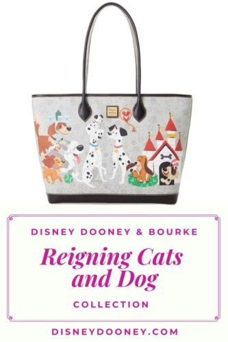 Pin me - Disney Dooney and Bourke Reigning Cats and Dogs Collection
