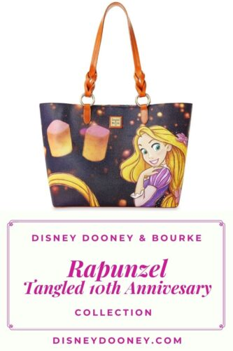 Pin me - Disney Dooney and Bourke Rapunzel Tangled 10th Anniversary Collection
