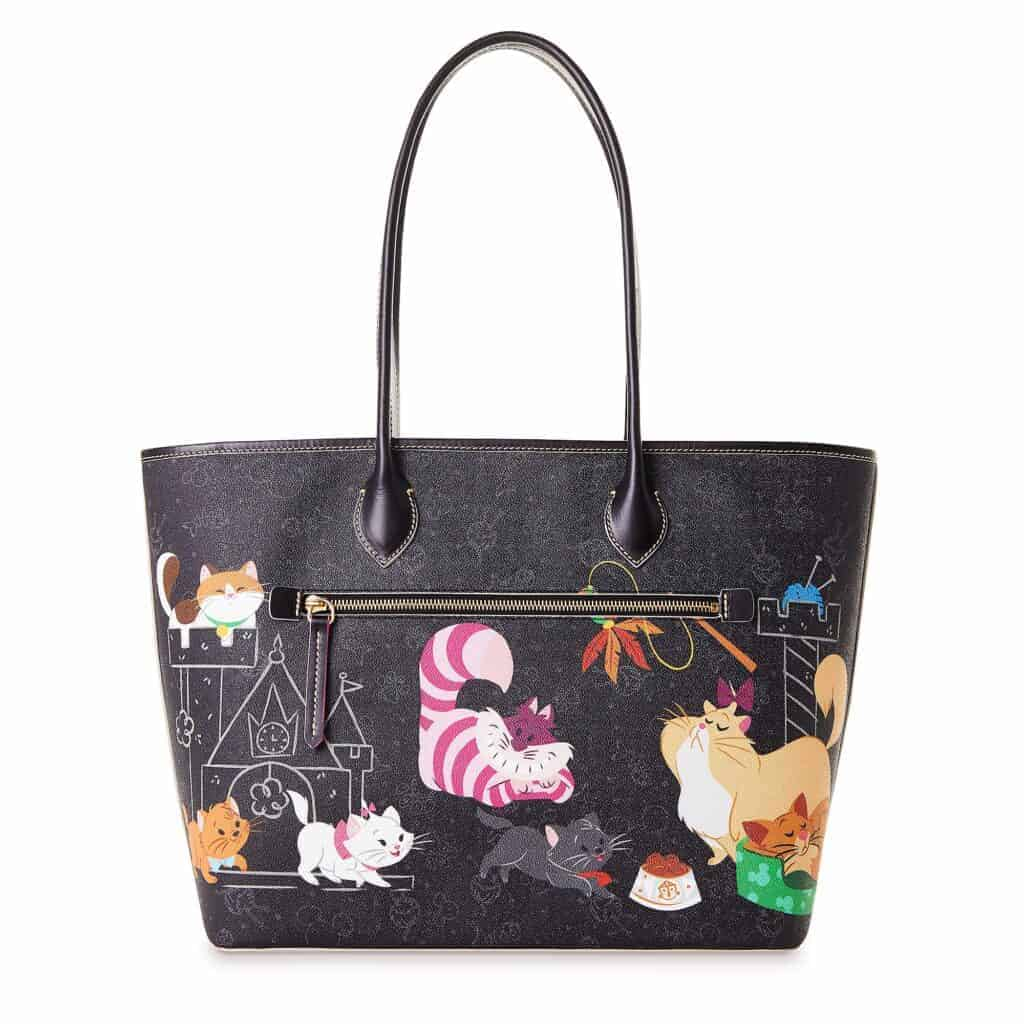 Reigning Cats Dogs Cat Tote (back)
