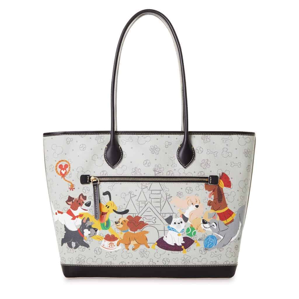 Reigning Cats Dogs Dog Tote (back)