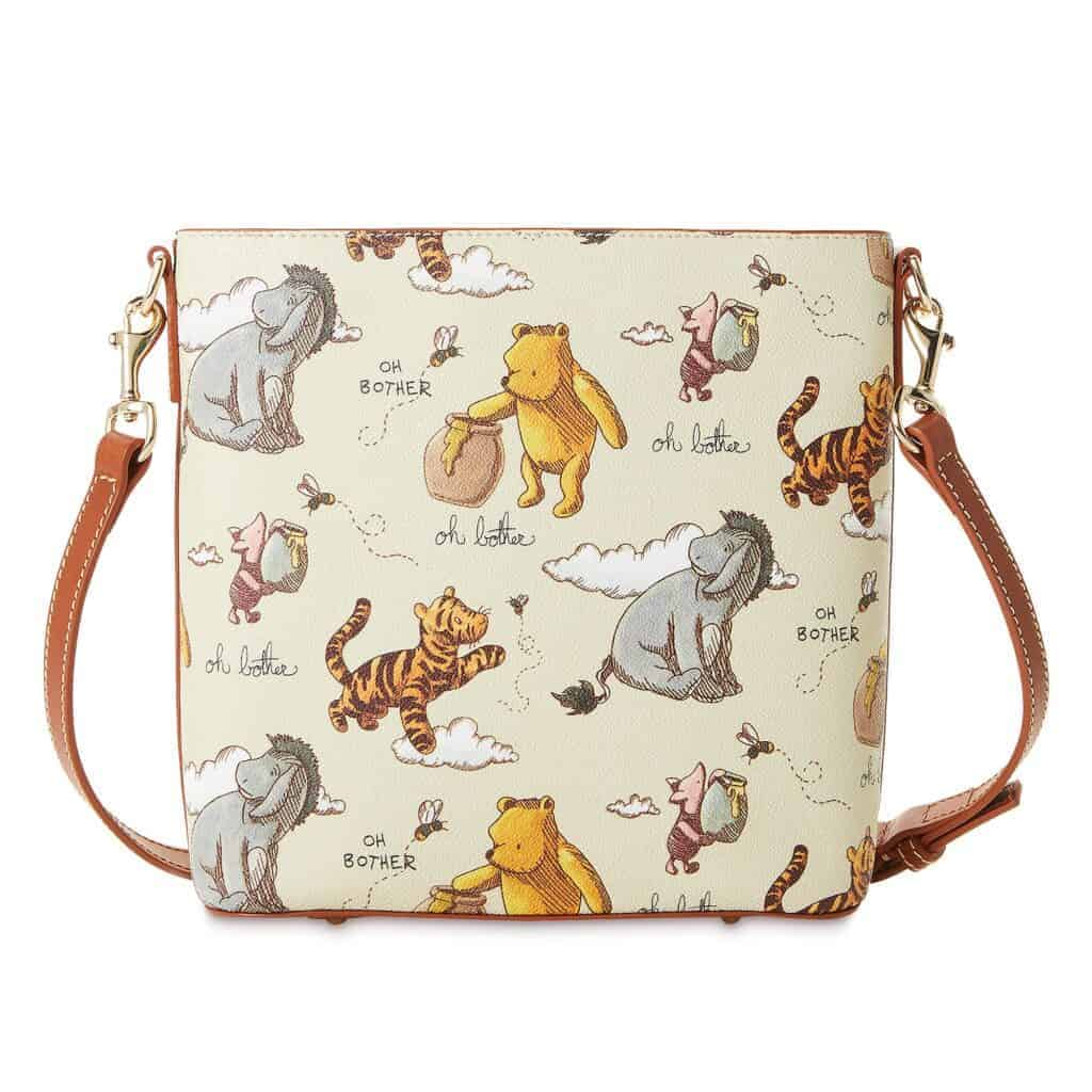 Classic Winnie the Pooh Crossbody (back) by Dooney & Bourke