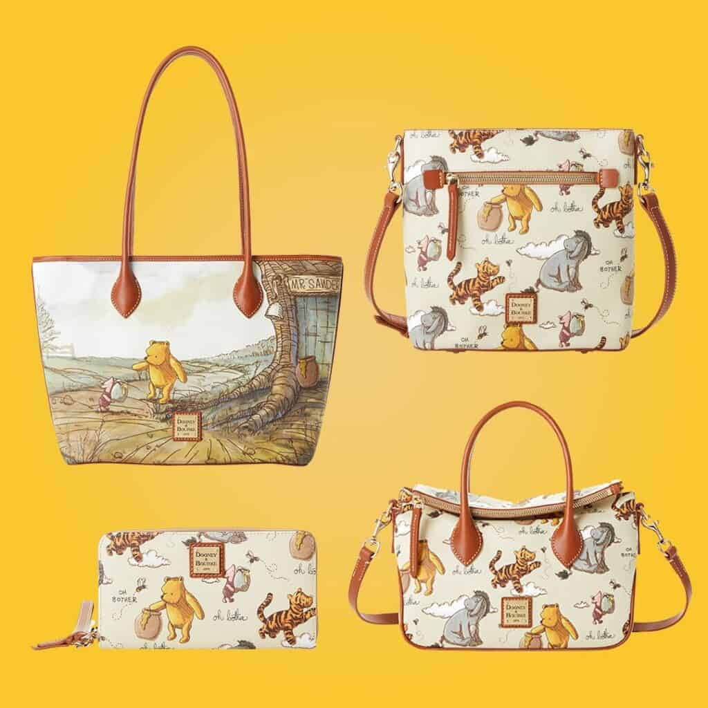 Classic Winnie the Pooh Dooney and Bourke collection