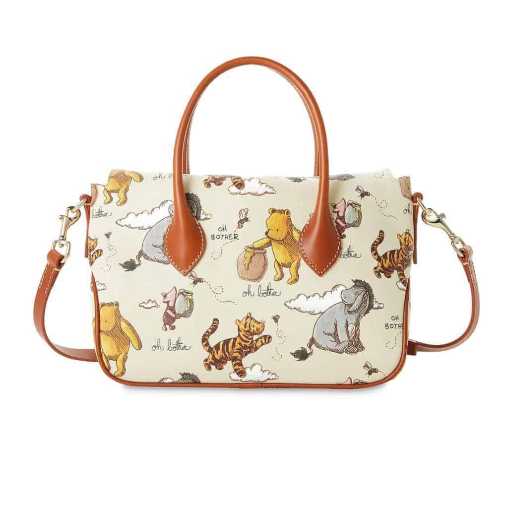 Classic Winnie the Pooh Satchel (back) by Dooney & Bourke