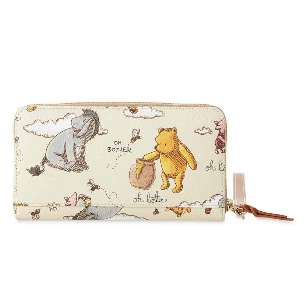 Classic Winnie the Pooh Wallet (back) by Dooney & Bourke