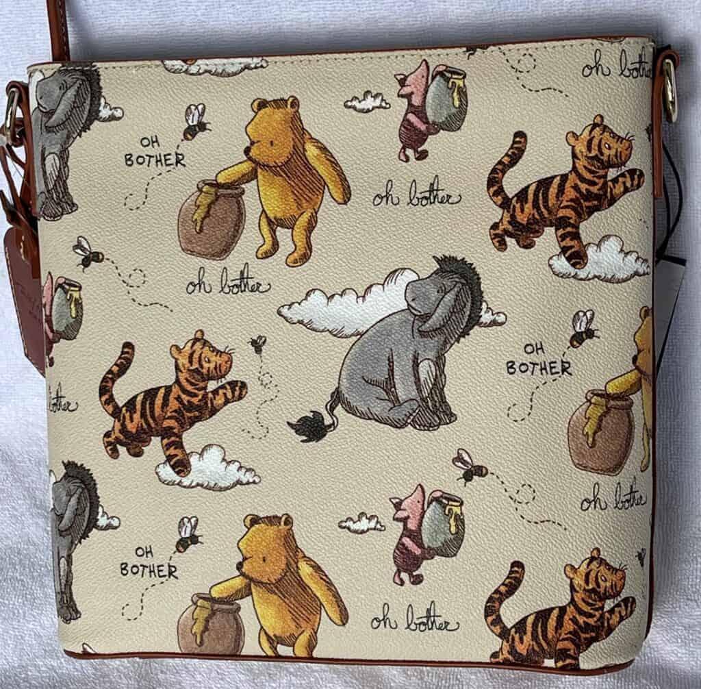 Classic Winnie the Pooh Crossbody (back)