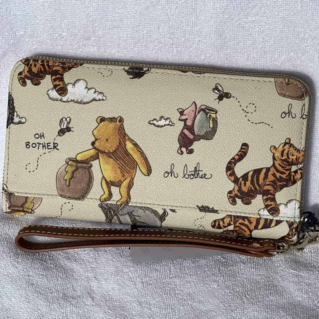 Classic Winnie the Pooh Wallet (back)