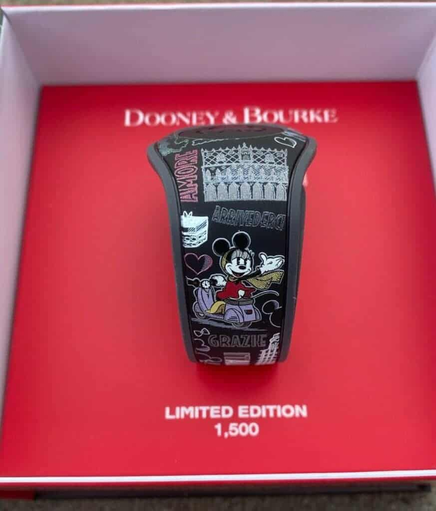 Epcot World Showcase: Italy MagicBand (strap) by Dooney & Bourke