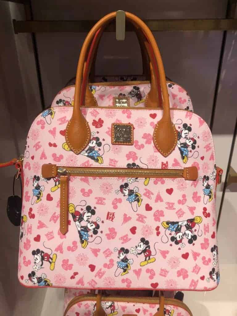 Mickey and Minnie Love Satchel
