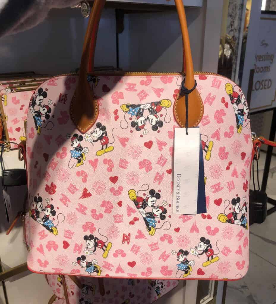 Mickey and Minnie Love Satchel (back)