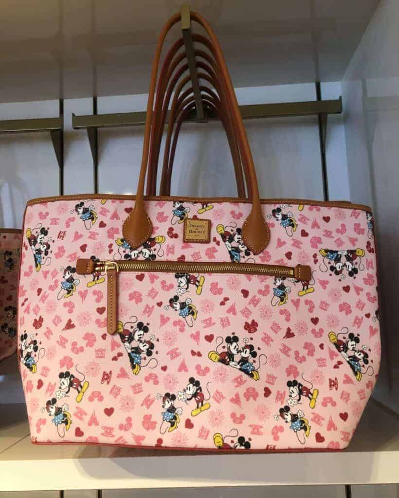 Mickey and Minnie Love Tote