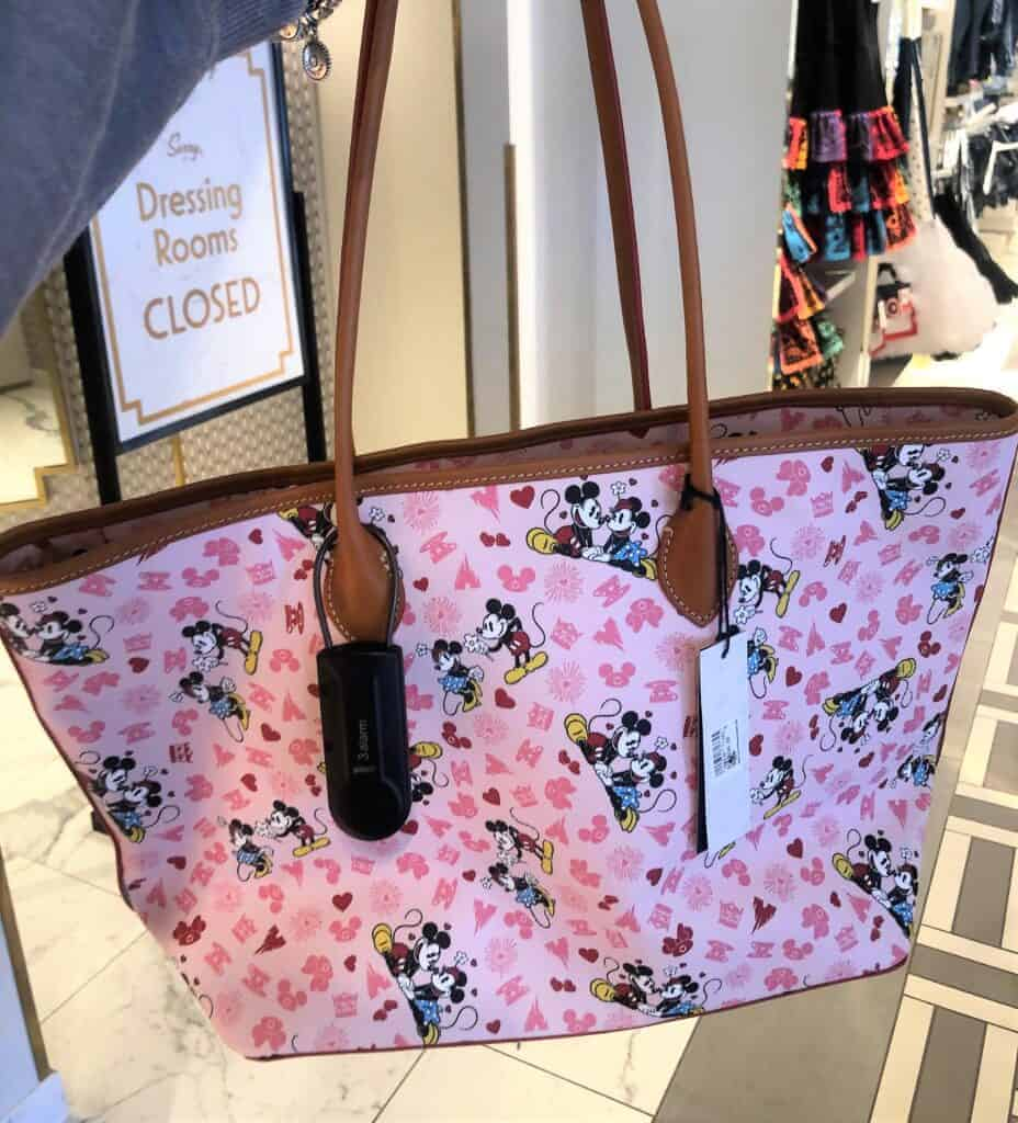 Mickey and Minnie Love Tote (back)