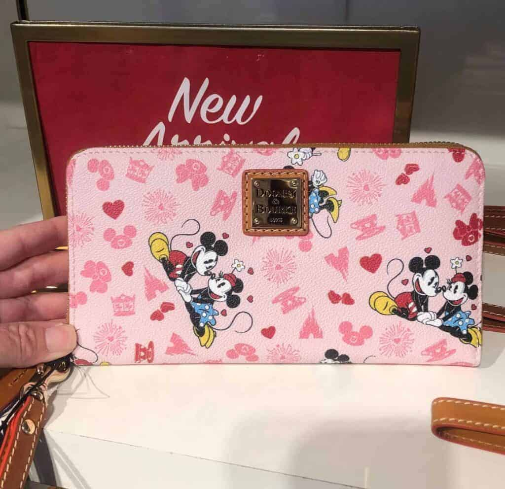 Mickey and Minnie Love Wallet