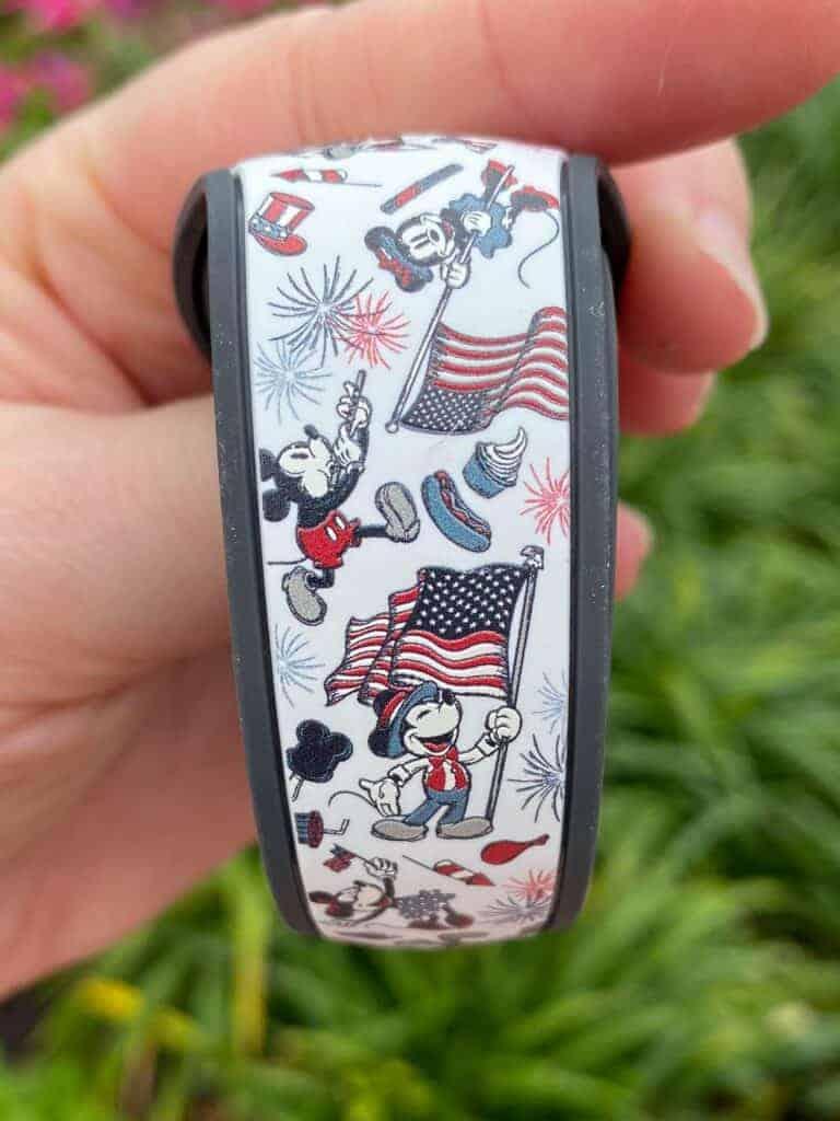 Americana MagicBand Back