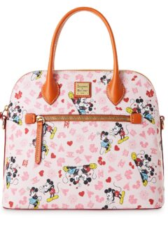Mickey and Minnie Love Satchel by Dooney & Bourke